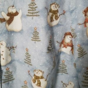 Mad About Scrubs Jackets & Coats - Christmas Snowmen Scrub Jacket  sz L